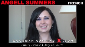 Look at Angell Summers getting her porn audition. Pierre Woodman fuck Angell Summers, French girl, in this video.