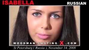 Mira nuestro vídeo de fundición de Isabel.  Erótico reunión beween Pierre Woodman e Isabel, una chica rusa.