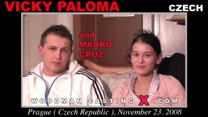 Look at Vicky Paloma getting her porn audition. Pierre Woodman fuck Vicky Paloma, Czech girl, in this video.