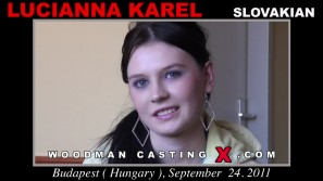Watch our casting video of Lucianna Karel. Pierre Woodman fuck Lucianna Karel, Slovak girl, in this video.