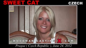 Look at Sweet Cat getting her porn audition. Pierre Woodman fuck Sweet Cat, Czech girl, in this video.