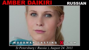 Download Amber Daikiri casting video files. Pierre Woodman undress Amber Daikiri, a Russian girl.