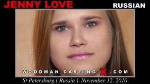 Access Jenny Love casting in streaming. A Russian girl, Jenny Love will have sex with Pierre Woodman.