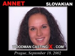 Watch Annet first XXX video. Pierre Woodman undress Annet, a Slovak girl.