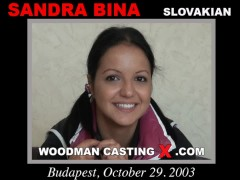 Download Sandra Bina casting video files. A Slovak girl, Sandra Bina will have sex with Pierre Woodman.
