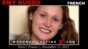 Check out this video of Emy Russo having an audition. Pierre Woodman fuck Emy Russo, French girl, in this video.