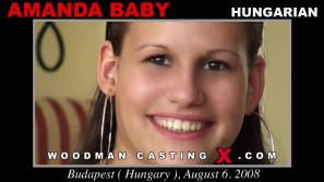 Download Amanda Baby casting video files. A Hungarian girl, Amanda Baby will have sex with Pierre Woodman.