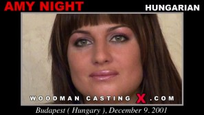 Watch our casting video of Amy Night. Erotic meeting between Pierre Woodman and Amy Night, a Hungarian girl.