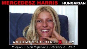 Download Mercedesz Harris casting video files. Pierre Woodman undress Mercedesz Harris, a Hungarian girl.