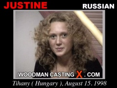 Download Justine casting video files. Pierre Woodman undress Justine, a Russian girl.