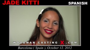 Look at Jade Kitti getting her porn audition. Erotic meeting between Pierre Woodman and Jade Kitti, a Spanish girl.