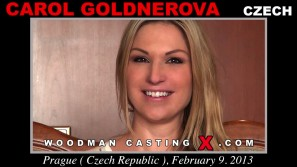 Watch Carol Goldnerova first XXX video. Pierre Woodman undress Carol Goldnerova, a Czech girl.
