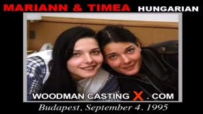 Check out this video of Mariann & Timea having an audition. Erotic meeting between Pierre Woodman and Mariann & Timea, a Hungarian girl.