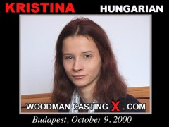 Watch our casting video of Kristina. Erotic meeting between Pierre Woodman and Kristina, a  girl.
