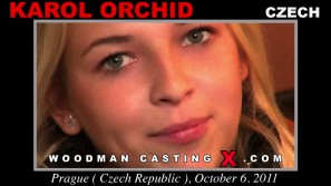 Watch our casting video of Karol Orchid. Erotic meeting between Pierre Woodman and Karol Orchid, a  girl.