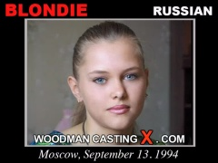 Watch Blondie first XXX video. A Russian girl, Blondie will have sex with Pierre Woodman.