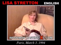 Download Lisa Stretton casting video files. Pierre Woodman undress Lisa Stretton, a English girl.