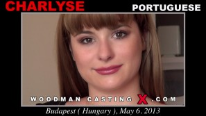 Download Charlyse  casting video files. Pierre Woodman undress Charlyse , a Portuguese girl.