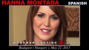 Look at Hanna  Montada getting her porn audition. Erotic meeting between Pierre Woodman and Hanna  Montada, a  girl.