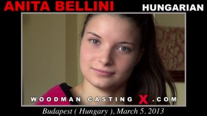 Check out this video of Anita Bellini having an audition. Erotic meeting between Pierre Woodman and Anita Bellini, a Hungarian girl.