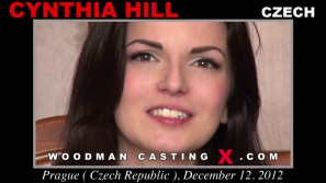 Look at Cynthia Hill getting her porn audition. Erotic meeting between Pierre Woodman and Cynthia Hill, a  girl.