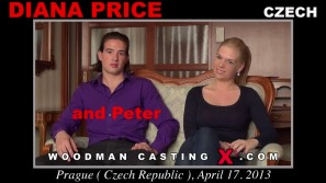 Access Diana Price casting in streaming. Pierre Woodman undress Diana Price, a  girl.