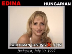 Watch our casting video of Edina. Erotic meeting between Pierre Woodman and Edina, a Hungarian girl.