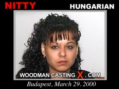 Check out this video of Nitty having an audition. Erotic meeting between Pierre Woodman and Nitty, a Hungarian girl.