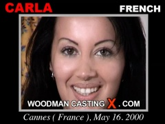 Watch Carla first XXX video. Pierre Woodman undress Carla, a French girl.
