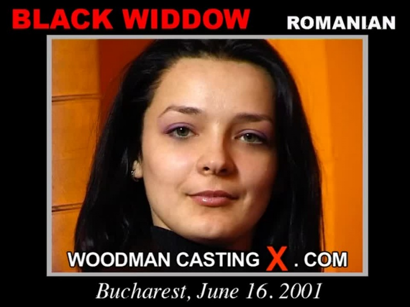 Black Widdow Woodman Casting X
